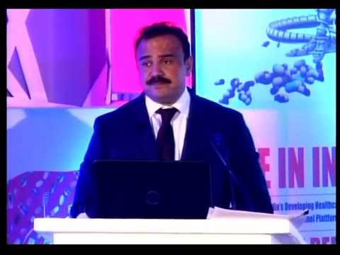 Anand Shirur of ConvaTec India addressing at 7th Annual Pharmaceutical Leadership Summit 2014
