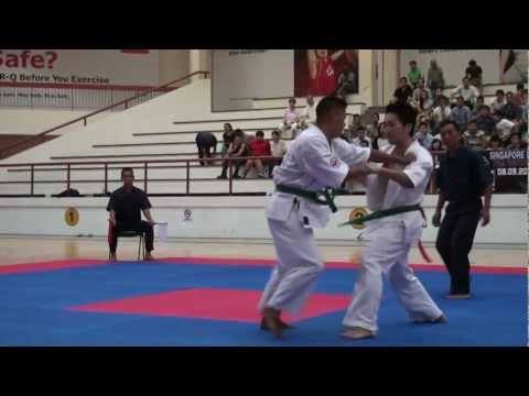 Kyokushin Karate Tournament 2012_ Kenichi Endo vs Nabin Thapa Image 1