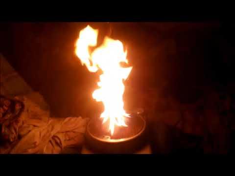 Розжиг каталитической грелки бензином
