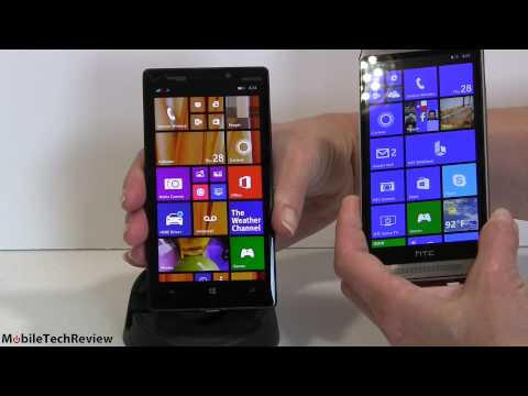 HTC One M8 for Windows vs Nokia Lumia Icon Comparison Smackdown