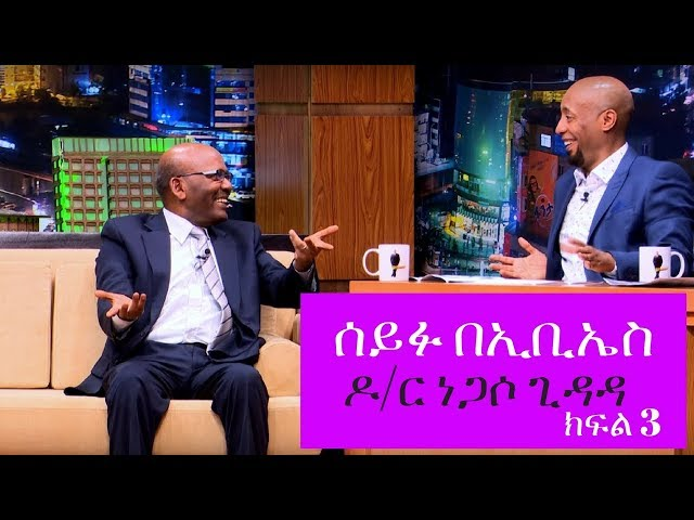 Interview with Dr Negasso Gidada Seifu on EBS: Part 3