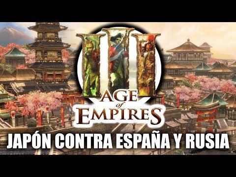 JUGANDO Age of Empires 3 -
