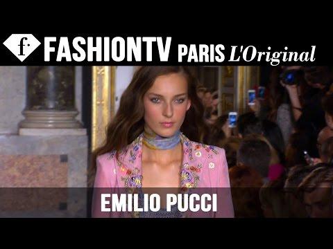 Emilio Pucci Spring summer 2015 First Look | Milan Fashion Week | Fashiontv video