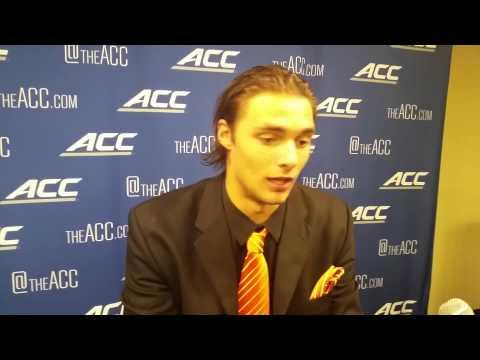 TigerNet.com - Cole Stoudt post Boston College