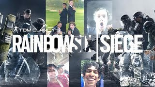 Rainbow Six Siege Squad Funny Moments Rage and Betrayal