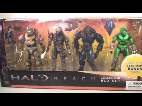 Halo Reach Box Set INTERACTIVE REVIEW: START HERE!!!