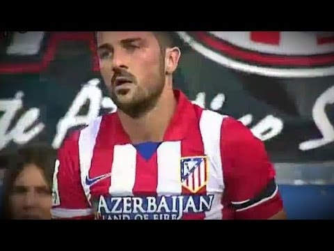 Atletico Madrid  vs Malaga 1-1 All Goals & Highlights 11.05.2014