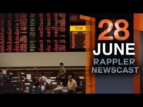 Rappler Newscast | June 28, 2013