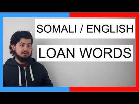 COMMON WORDS IN SOMALI AND ENGLISH! || SOMALI LANGUAGE thumbnail