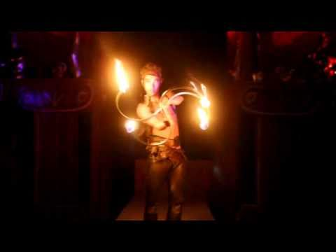 Dai Zaobab - Fire Buugeng at Burning Man 2010