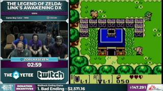 The Legend of Zelda: Link's Awakening DX by zorlaxseven in 1:25:18 - SGDQ2016 - Part 39