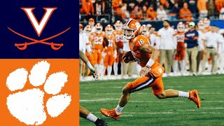 #23 Virginia vs #3 Clemson 2019 ACC Championship Highlights | College Football Highlights