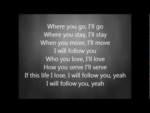 Chris Tomlin - I Will Follow With Lyrics video