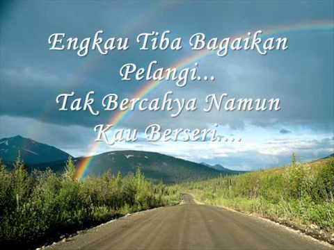 Pelangi Petang - Sudirman with lyrics