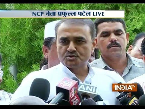 Live: NCP leader Praful Patel addressing Media over Alliance