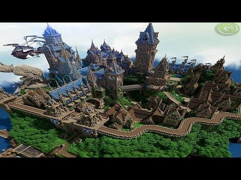 MineCraft 1.6 SnapShot: Medieval Kingdom Halion!  Top Maps