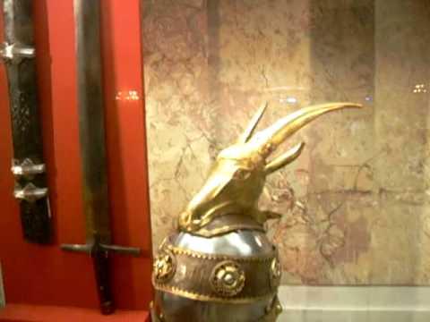 Helmet Sword Skenderbeg's Sword And Helmet