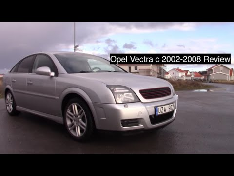 Opel Vectra c 2002-2008 Review/Test drive Pov 60FPS