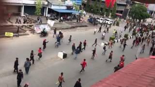 woww!!!! suku Dayak usir  FPI di pontianak (Pekan Gawai Dayak ke-32)