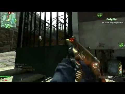 Welcome to a MW3 Gameplay Commentary (Double PP90 MOAB)