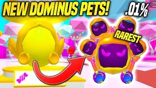 *NEW* DOMINUS EGG AND SWEET ISLAND IN BUBBLE GUM SIMULATOR UPDATE!!! (Roblox)