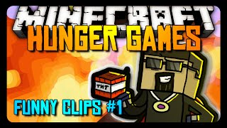 Minecraft: FUNNY CLIPS #1 - Hunger Games!