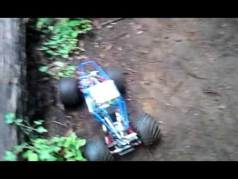 Bush crashing crawler