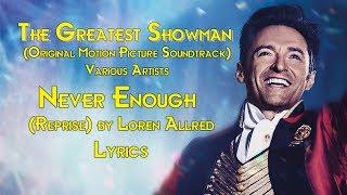 download lagu Never Enough Reprise By Loren Allred gratis