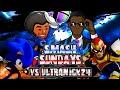 Smash Sundays #4 - Smash Wii U IN BATHROOM VS Ultranick24