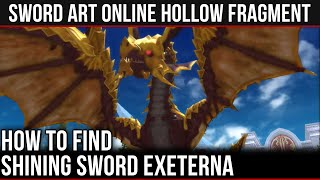Shining Dragon Exeterna Battle and Rewards in SAO: Hollow Fragment