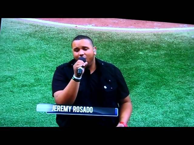jEREMY ROSADO GOD BLESS AMERICA