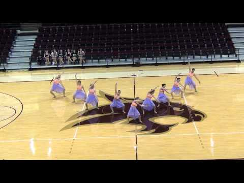 2012 - 2013 Canyon High School Aristocat Dance Team - Large Ensemble 02222013