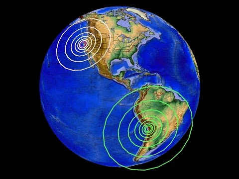 8/24/2014 -- Major Unrest underway -- Large 7.0M (6.9) earthquake strikes Peru -- 6.0M in California