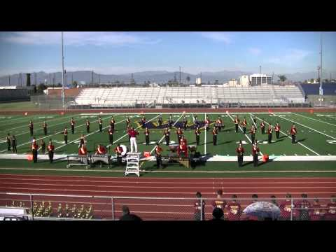 Oxnard High School Marching Band & Auxiliary 2014 - Warren High School Competition 10/4/2014