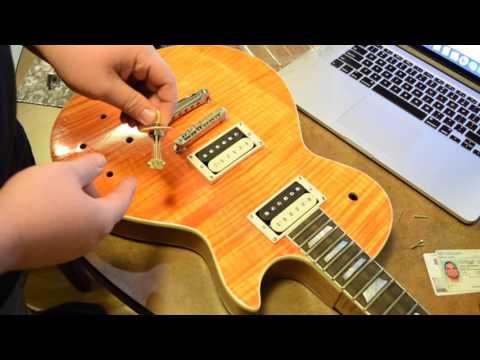 Slash AFD DIY Les Paul Kit - (Part 5: Hardware. Final Construction)