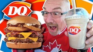 Dairy Queen ???? DOUBLE LOADED STEAKHOUSE BURGER ????