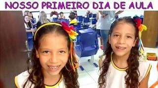 NOSSO PRIMEIRO DIA DE AULA