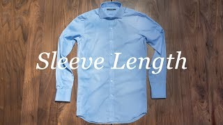 How To Measure Your Shirt: Sleeve Length