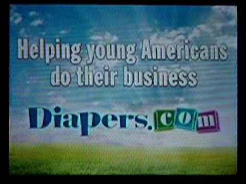 The ad for diapers.com ...