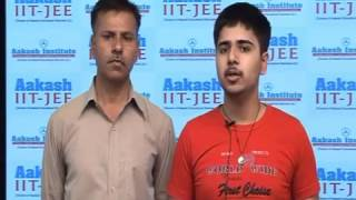 Aakash IIT-JEE Results 2012-KAUSHAL HOODA-Top Ranker(AIR-88)