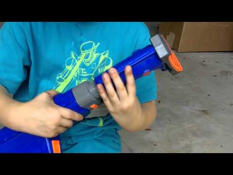Nerf Raider CS-35 Review and Shooting by Reagans Toy Review