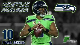 Deep Dive Into The 2019 Seattle Seahawks | Power Ranking: 10