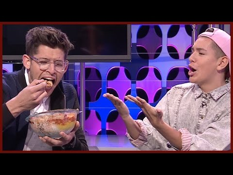 GROSS SUNDAE CHALLENGE ON TOP FIVE LIVE W/LOHANTHONY AND HUNTER MARCH
