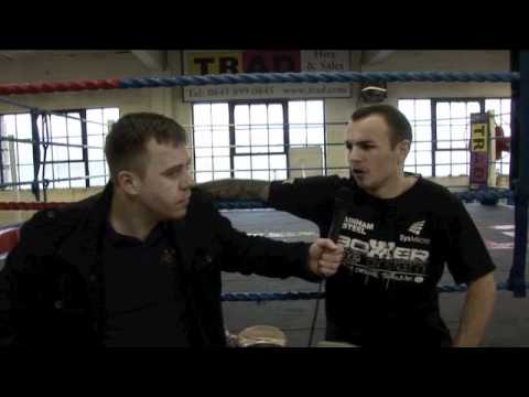 INTERVIEW WITH KEVIN MITCHELL FOR iFILM LONDON / MEDIA WORKOUT / MITCHELL v LORA