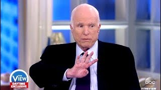 McCain: Talks About Fallen Soldiers & Niger Controversy - The View