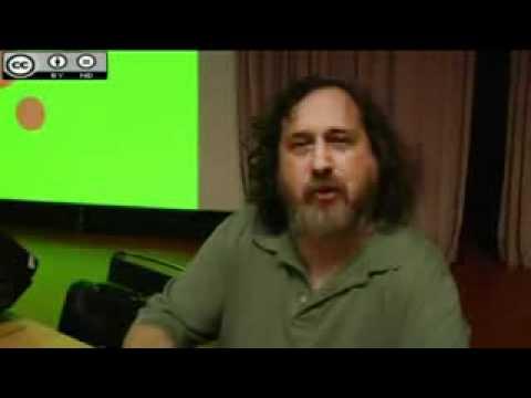 Richard Stallman habla en español sobre el Software libre