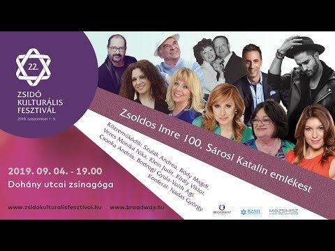 Szerelmi történet – Zsoldos Imre 100 és Sárosi Katalin emlékest sztárfellépőkkel