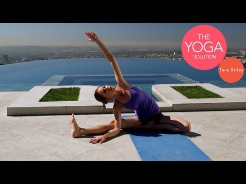 5-Minute Flexibility Yoga Routine | The Yoga Solution With Tara Stiles