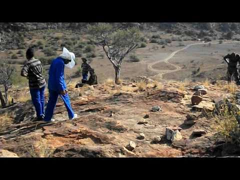 ARCHAEOLOGY TRIP AT MASHATU GAME RESERVE-Botswana, Southern Africa.AVI