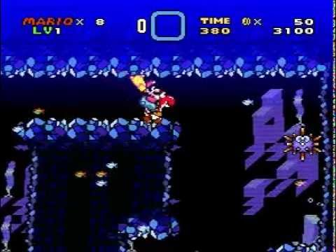 Super Brutal Mario World (Kitiku) - Frozen Cave